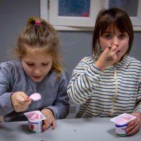 Відміннийсніданокабовечеря–йогурт.
